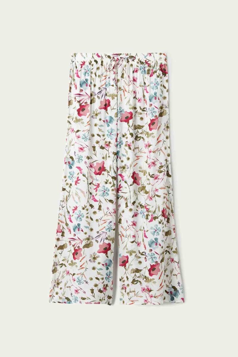floral party pants