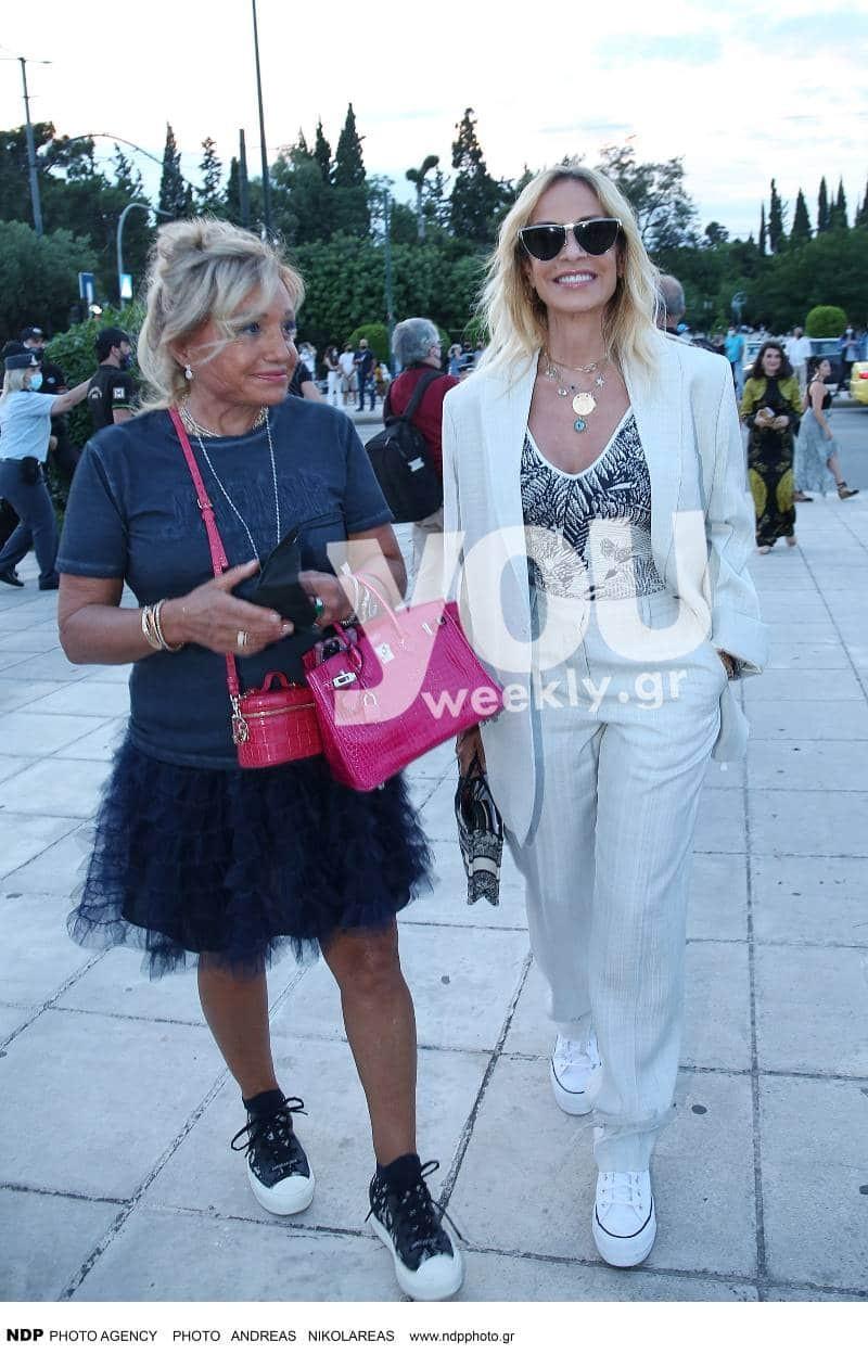 Dior Celebrates Greece Άννα Βίσση