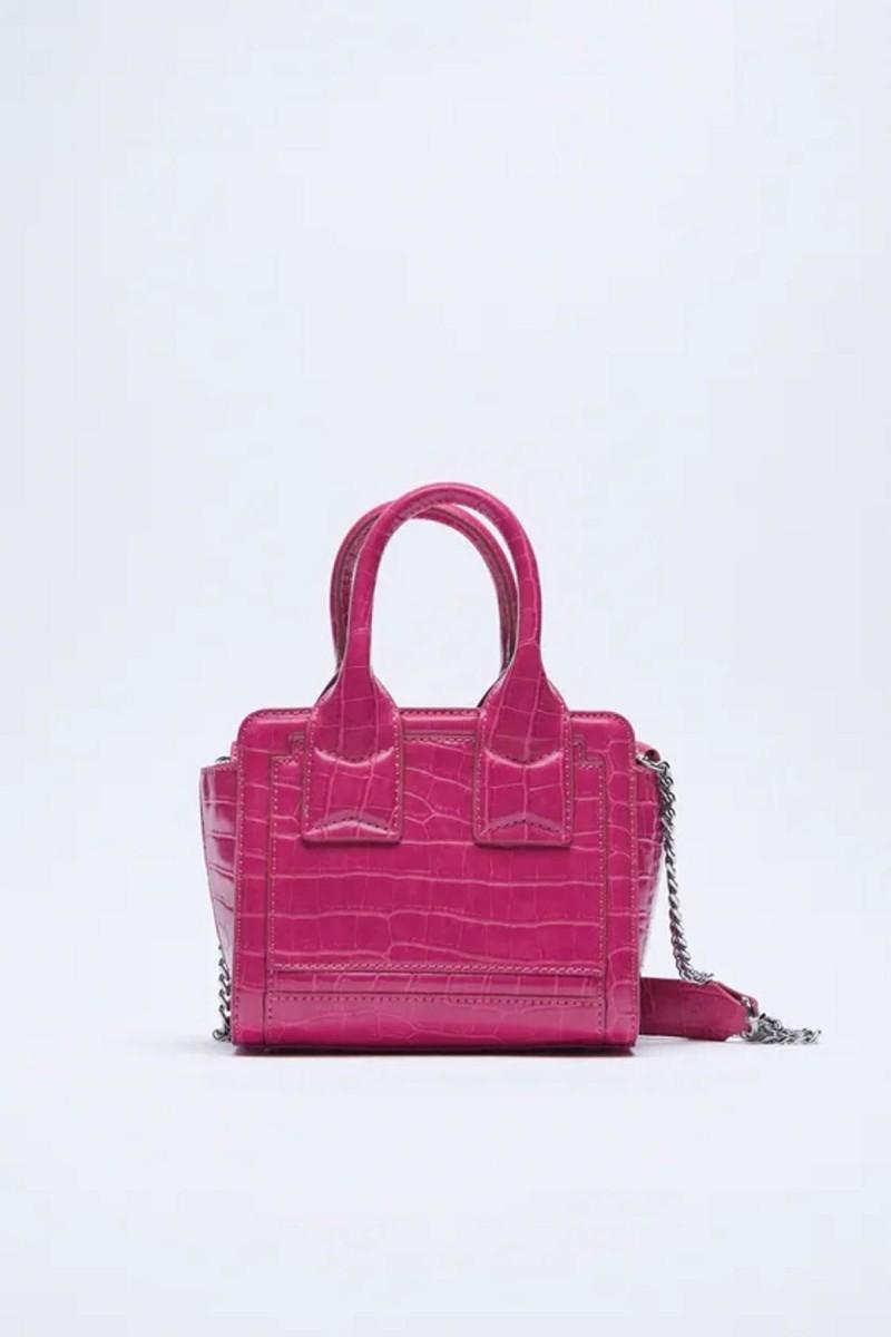 ροζ mini bag