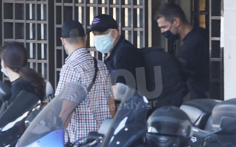 Πέτρος Φιλιππίδης πρώτες ώρες στην φυλακή