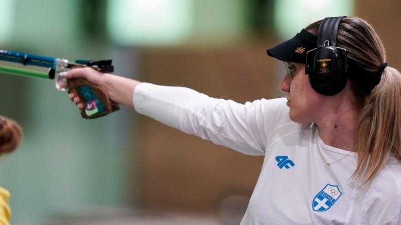 Ολυμπιακοί Αγώνες: «Πιστόλι» η Άννα Κορακάκη - Ένα βήμα πιο κοντά στον τελικό