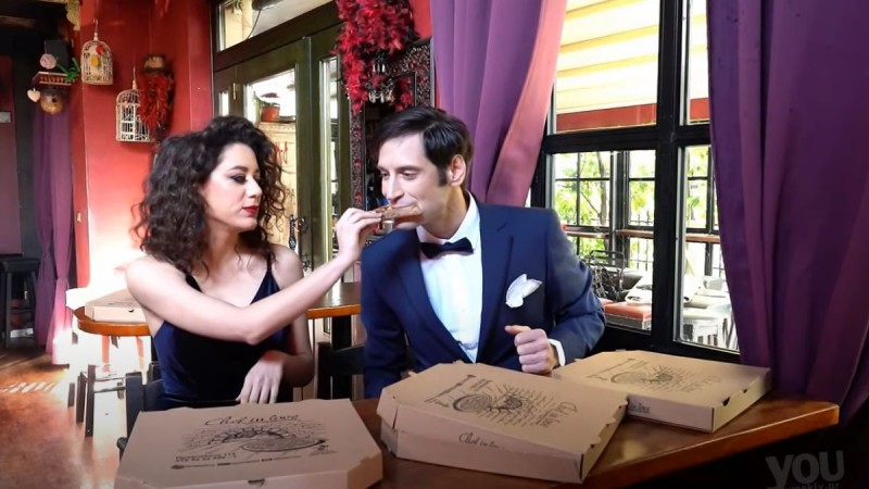 Chef in Love: Πίτσα με... ονοματεπώνυμο!