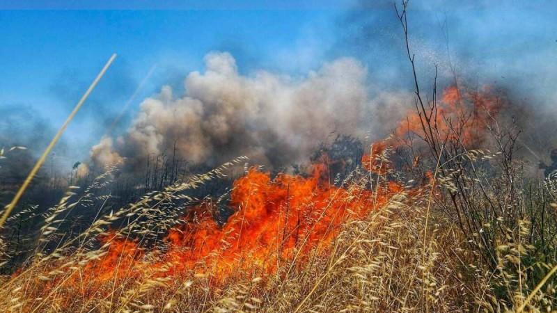 Ισχυρή φωτιά στην Ζάκυνθο