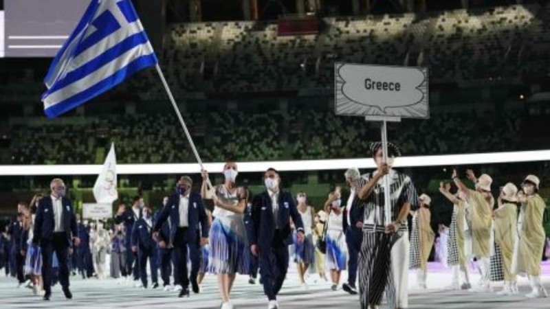 Πετρούνιας - Κορακάκη: Συγκινούν οι δηλώσεις τους μετά την τελετή έναρξης στους Ολυμπιακούς Αγώνες