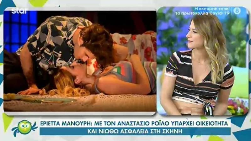 Εριέττα Μανούρη: Μίλησε για την συνεργασία της με τον σύντροφο της Αναστάση Ροϊλό