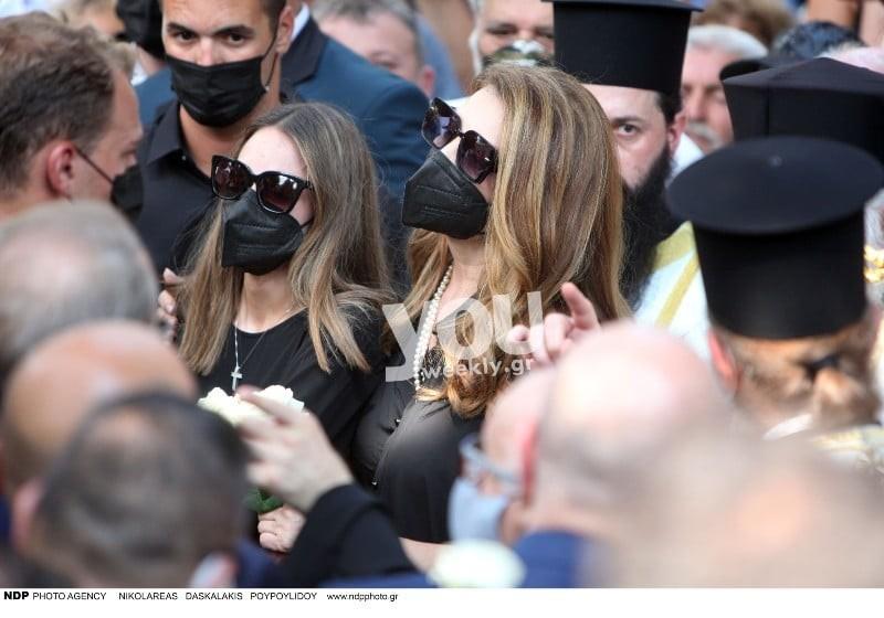 Άντζελα Γκερέκου κηδεία Τόλη Βοσκόπουλου