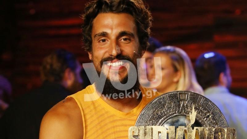Ξυρίστηκε και κουρεύτηκε ο Σάκης Κατσούλης - Αγνώριστος λίγο μετά τον τελικό του Survivor 4
