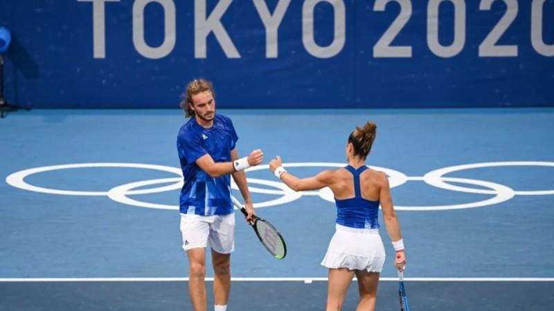 Ολυμπιακοί Αγώνες: Εκτός ημιτελικών Μαρία Σάκκαρη και Στέφανος Τσιτσιπάς