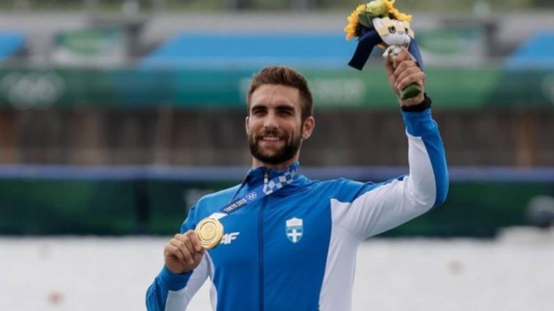 Στέφανος Ντούσκος: Συγκινεί η πρώτη του ανάρτηση μετά το χρυσό μετάλλιο στους Ολυμπιακούς Αγώνες