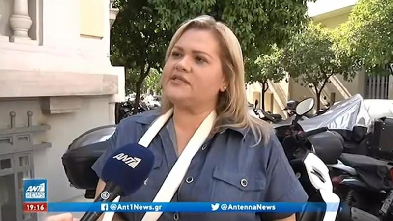 Χρύσλα Γεωργακοπούλου: Σοκάρει με την επίθεση που δέχτηκε από ταξιτζή - «Με χτυπάει και βαράει η πόρτα πάνω μου»