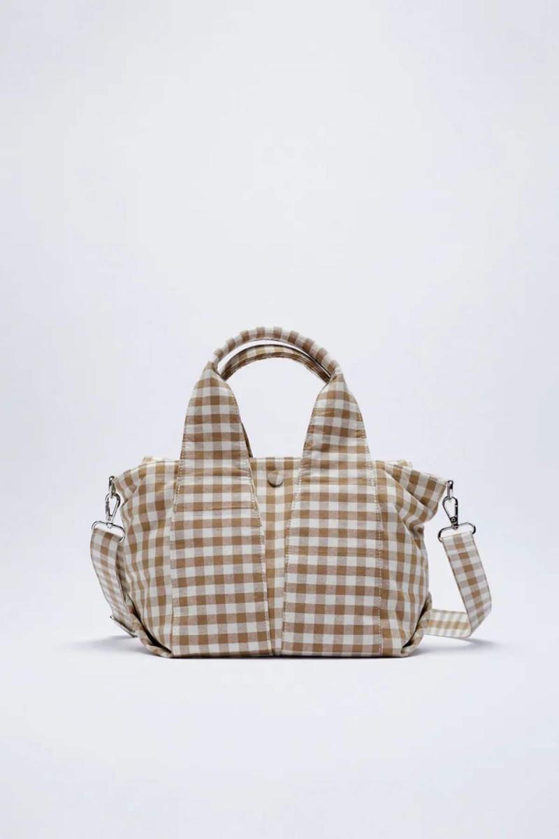 καρό τσάντα