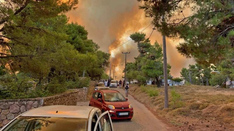 Μήνυμα από το 112: Απαγόρευση κυκλοφορίας μέχρι την Δευτέρα σε δάση και άλση