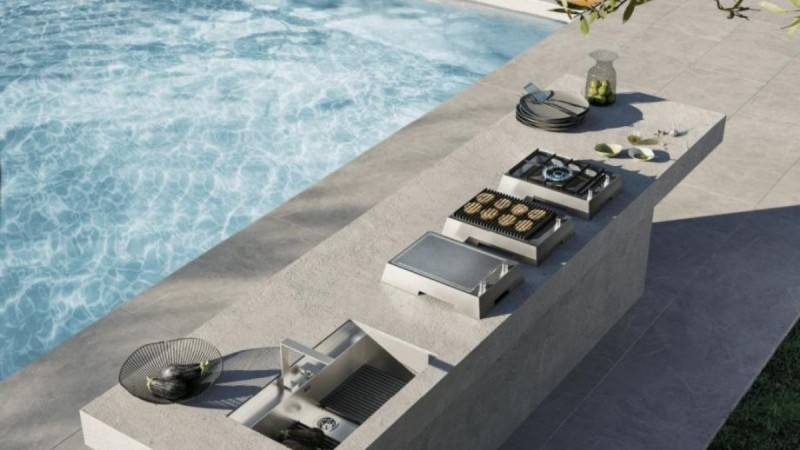 Feel the summer! Νέες λύσεις για outdoor εμπειρίες από τη Gruppo Cucine