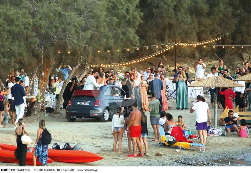 Γάμος μιχαλάκη πάρτι