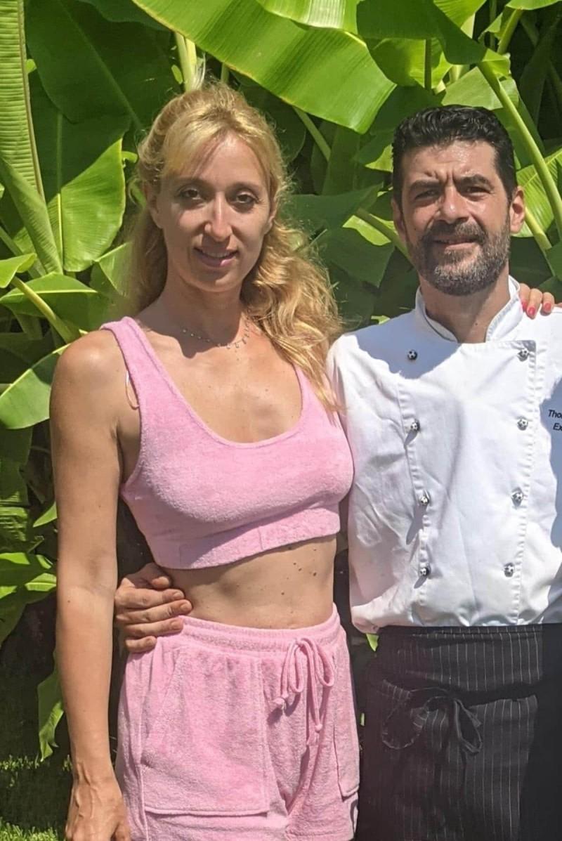 Θωμάς Λάμπουρας Chef  ξενοδοχείου Corfu Palace