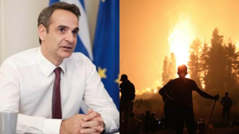 Φωτιές στην Ελλάδα: Αυτά τα μέτρα αποφάσισε η κυβέρνηση για τους πληγέντες
