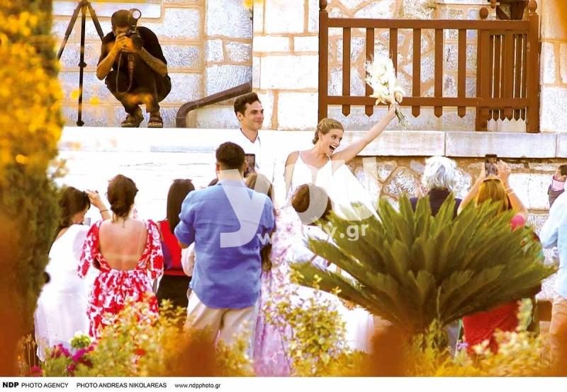 Γάμος Μιχαλάκη - Παπαγεωργίου περιοδικό YOU