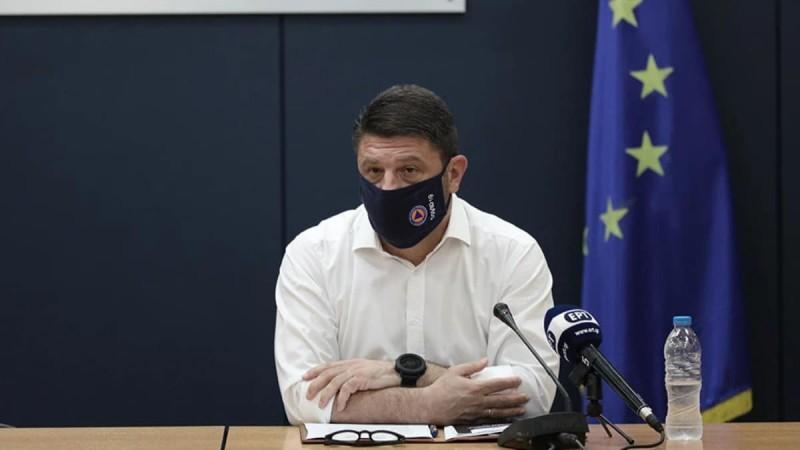 Νίκος Χαρδαλιάς: Οι νέες του ανακοινώσεις για τις φωτιές - 118 πυρκαγιές σε όλη τη χώρα