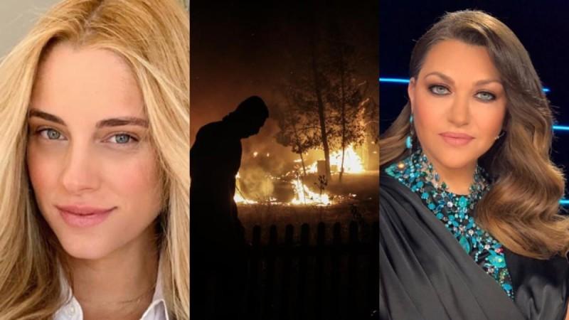 Φωτιά στην Βαρυμπόμπη: Οι συγκινητικές αναρτήσεις των διάσημων και το κύμα συμπαράστασης