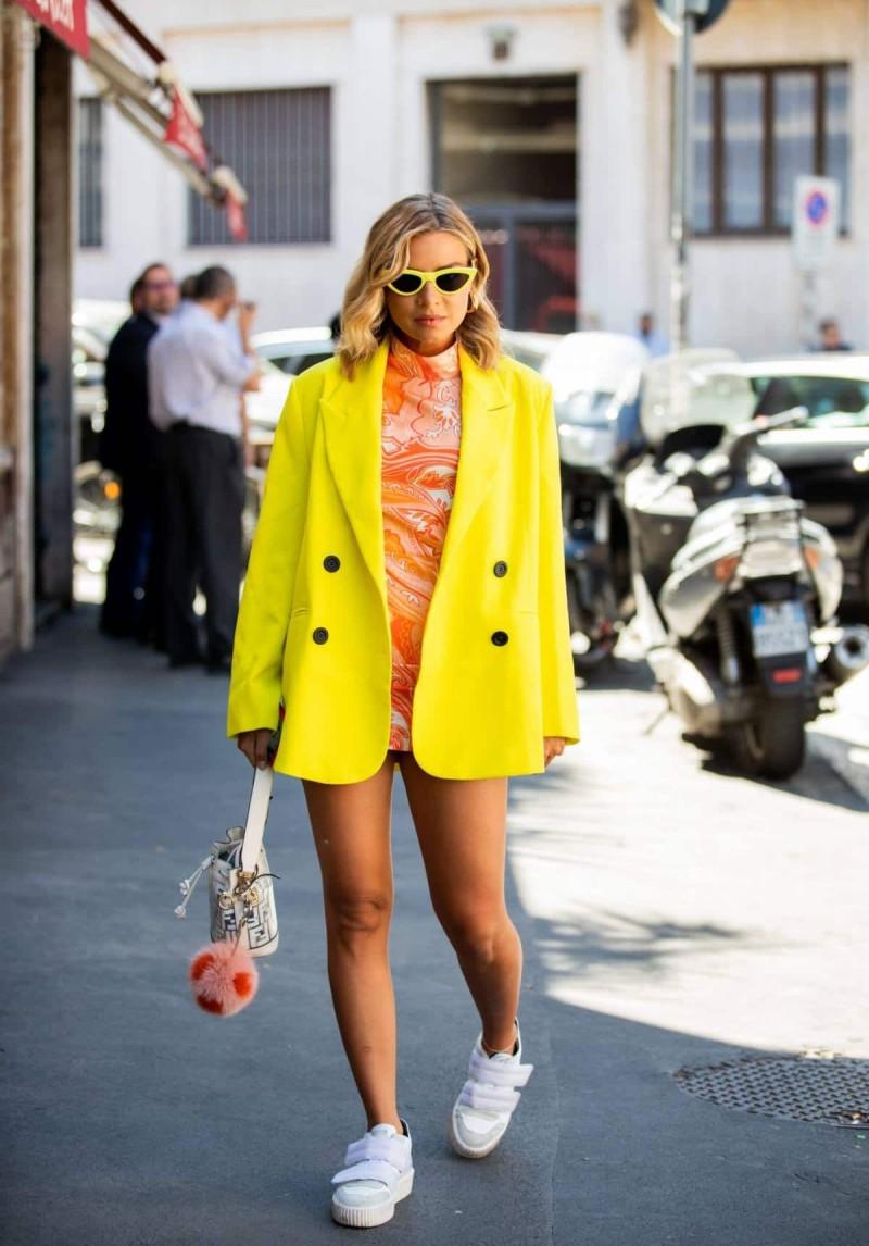 κιτρινο σακάκι