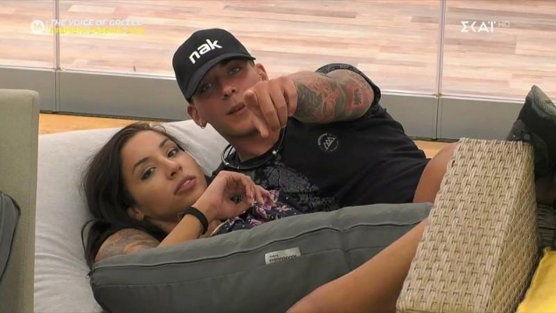 Big Brother 2: «Σύννεφα» στη σχέση Πέτσα - Ανχελίτα - Απόψε ο πρώτος μεγάλος καυγάς τους