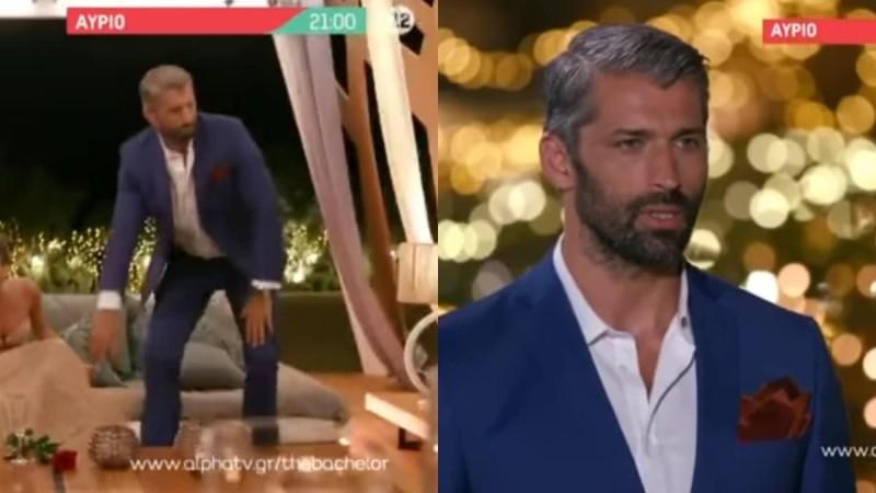 The Bachelor 2 trailer (17/9): Ο Αλέξης σηκώνεται και φεύγει έξαλλος