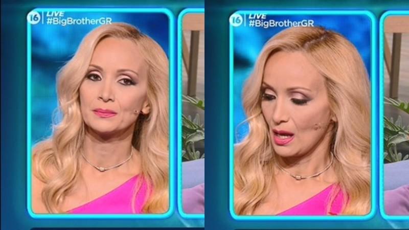 Big Brother 2: «Λύγισε» στον αέρα του live η Ναταλί Κάκκαβα