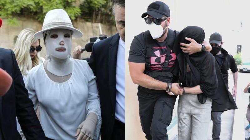 Επίθεση με βιτριόλι: Καρέ - καρέ οι κινήσεις της 36χρονης κατά τη διάρκεια της δίκης