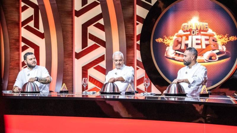 Πρεμιέρα για το Game of Chefs: Η εμφάνιση των κριτών και τα πρώτα λόγια της Ντορέττας Παπαδημητρίου