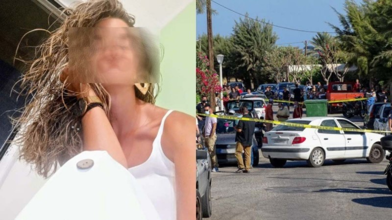 Έγκλημα στην Ρόδο: Σκληρή φωτογραφία: Η Ντόρα νεκρή στη μέση του δρόμου!
