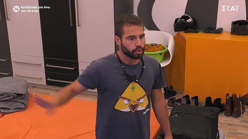 Big Brother 2: Τέλος η ήρεμη φωνή για τον Ισίδωρο - Άλλος άνθρωπος στον καυγά του με τον Στηβ