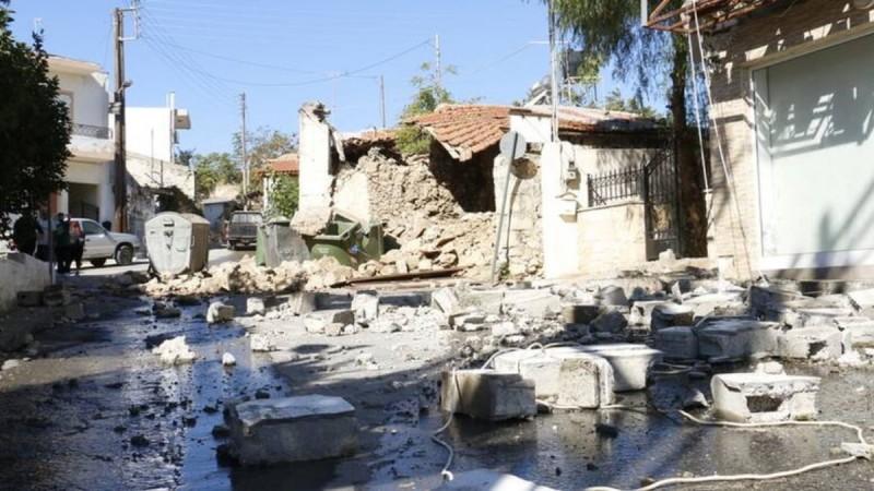 Σεισμός Κρήτη: Ισχυρός μετασεισμός 5,3 Ρίχτερ