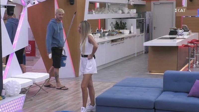 Big Brother 2: Μαίρη Βαρσάμη για Στηβ Μιλάτο - «Τι μου είσαι Στηβ;»