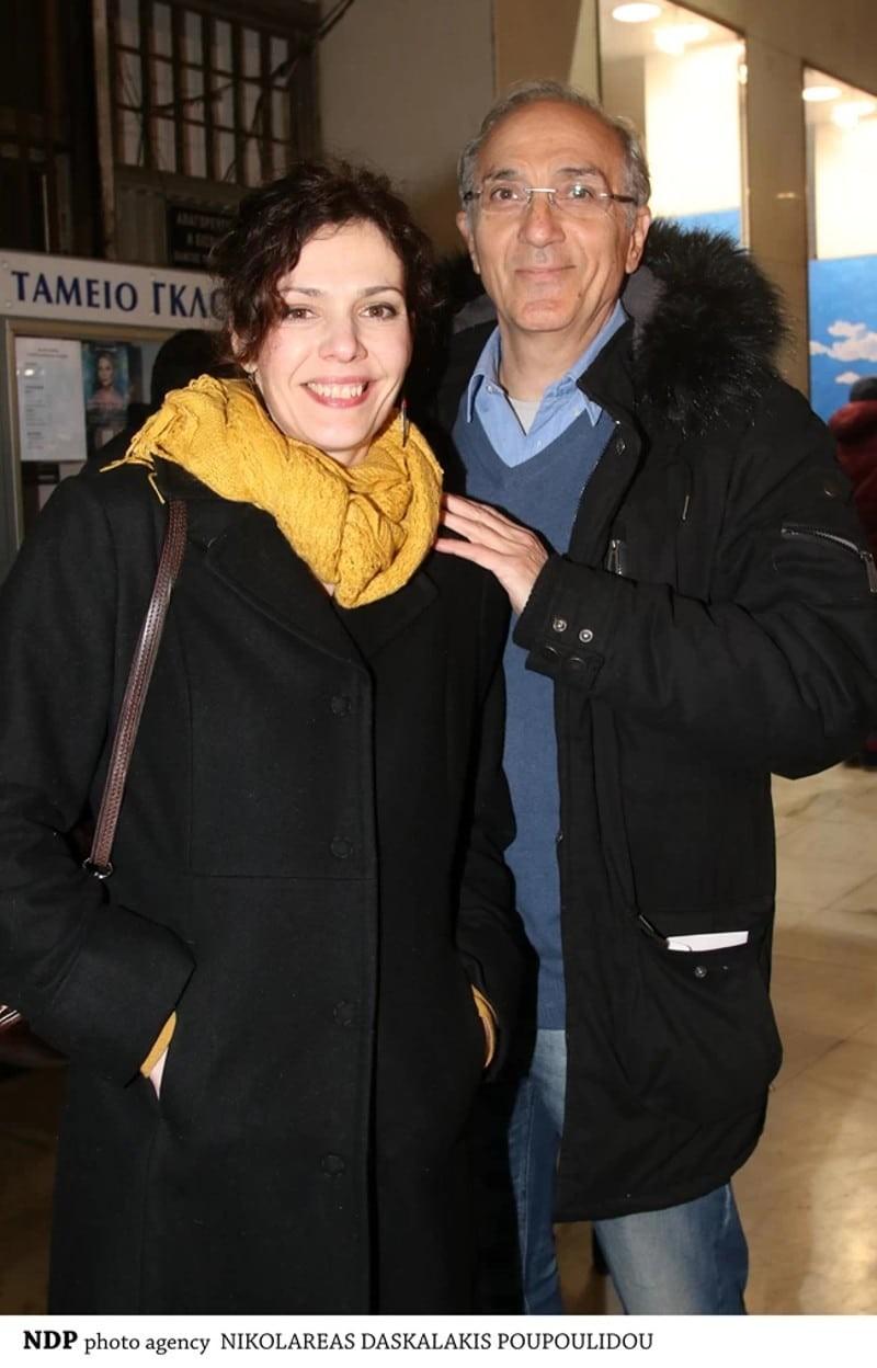 Μαριλίτα Λαμπροπούλου Γιάννης Νταλιάνης ζευγάρι