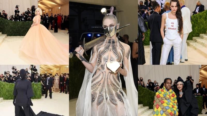 Met Gala 2021: Οι καλύτερες και οι πιο... κιτς εμφανίσεις