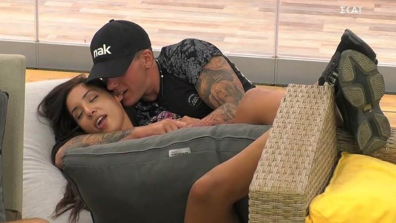 Big Brother 2: Τα τρυφερά τετ α τετ του Παναγιώτη Πέτσα και της Ανχελίτας