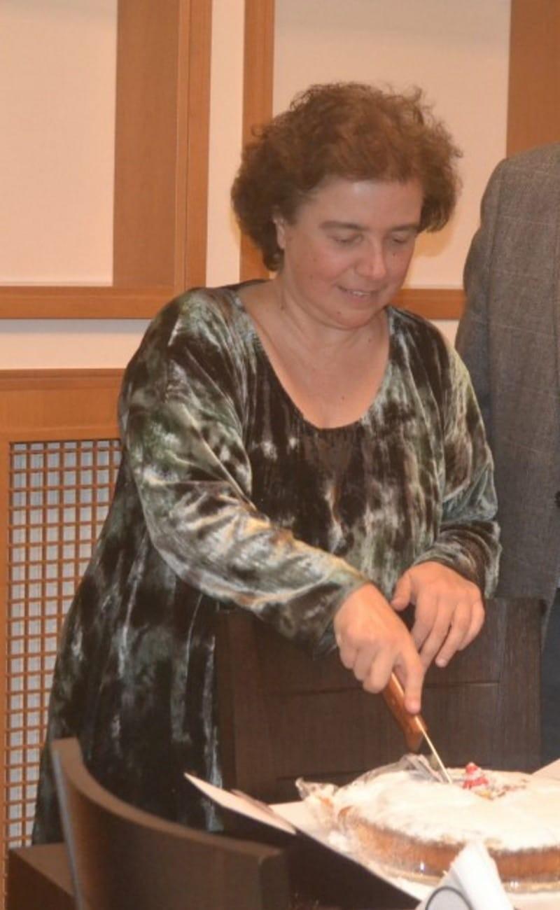 Ρένα Παρμενίδου στο πλευρό του Μίκη Θεοδωράκη