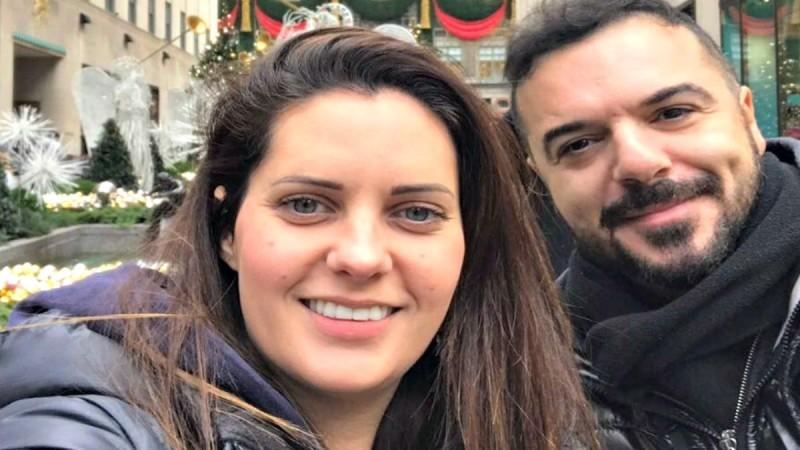 Ευχάριστα νέα για τον Τριαντάφυλλο και την σύζυγό του, Δήμητρα Σιαμπάνη