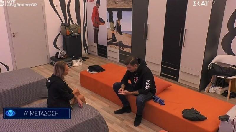 Big Brother 2: Ένταση επικρατεί ανάμεσα στον Στηβ και την Μαίρη