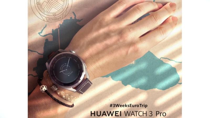 21 ημέρες, 2 travel bloggers, 2 HUAWEI Watch 3 Pro, αμέτρητες προκλήσεις!