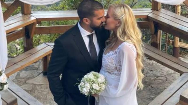 Τζούλια Νόβα: Στην φόρα αδημοσίευτες φωτογραφίες από τον γάμο της
