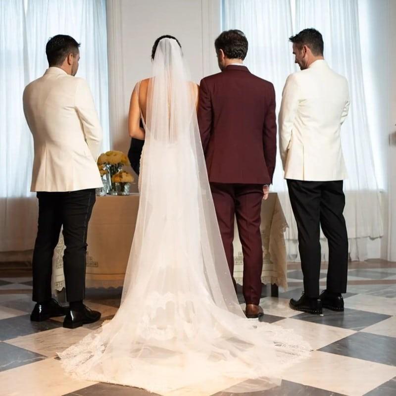 Τόνια Σωτηροπούλου - Κωστής Μαραβέγιας αδημοσίευτη φωτογραφία από τον γάμο τους