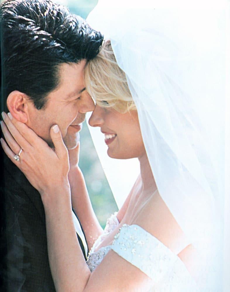 Ελένη Μενεγάκη γάμος Άγγελος Λάτσιος